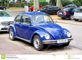 volkswagen beetle blue volkswagen beetle editorial image image of compact machine