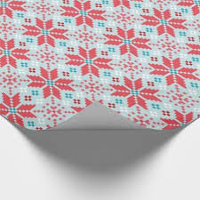 pixel wrapping paper winter christmas pastel pixel floral pattern wrapping paper