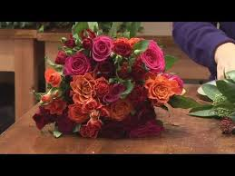 how to create flower arrangements for christmas weddings youtube