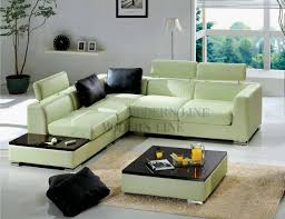 Custom Leather Sectional Sofa Best 15 Of Green Leather Sectional Sofas