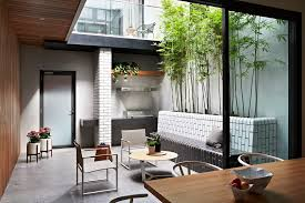melbourne tall outdoor planters patio contemporary with atrium