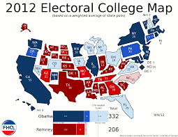 Tennessee On A Map by Frontloading Hq The Electoral College Map 9 9 12