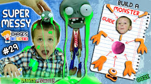 Build A Toy Box Kit by Chase U0027s Corner Gooey Ooze Monster Mess Pvz Zombie Slime Head