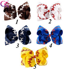 baseball ribbon compare prices on baseball hair ribbon online shopping buy low