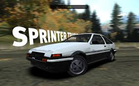 wanted toyota corolla need for speed most wanted toyota corolla ae86 sprinter trueno 86