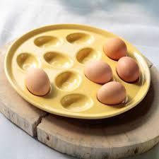 fiestaware egg plate 130 best homer laughlin china egg trays egg cups