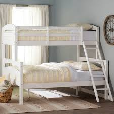 Viv Rae Sienna Rose Twin Over Full Bunk Bed  Reviews Wayfair - Full bunk beds