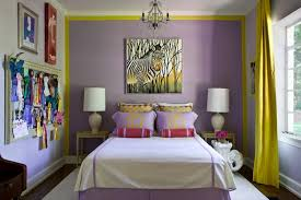 purple accents in bedroom yellow bedroom ideas sunny yellow