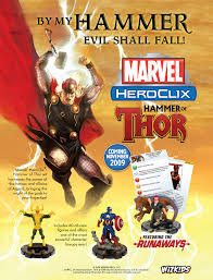 marvel heroclix hammer of thor raving toy maniac the latest