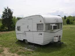 vintage camper for sale craigslist trashed backyard shasta
