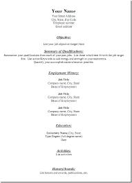 Harvard Mba Resume Template Download Generic Resume Haadyaooverbayresort Com