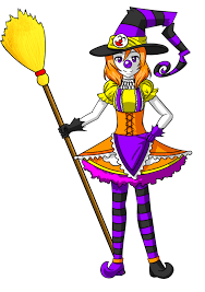 maki halloween clown witch by tf circus on deviantart