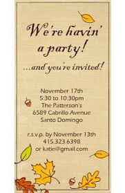 best 25 fall party invitations ideas on pinterest little