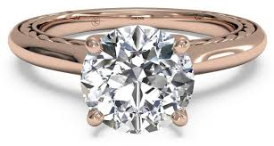 pink gold engagement rings pink gold engagement rings for true romantics ritani