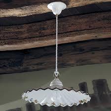ladari rustici in ceramica ladario ceramica decorato a mano decori a scelta illuminazione