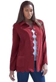 fashion bug plus size jacket cropped length stretch denim and