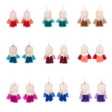 styles of earrings flower of earrings in 11 styles the bohemian free spirit