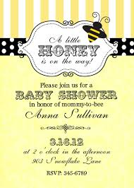 bumble bee baby shower invitations best shower
