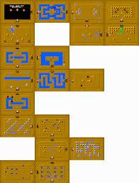 The Legend Of Zelda A Link Between Worlds Map by Level 4 First Quest Zeldapedia Fandom Powered By Wikia
