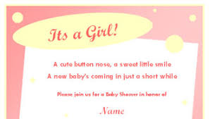 for baby shower pink puppy dog baby shower invitation template