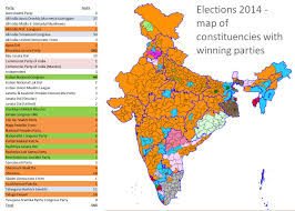 India Map With States by When And Where India Will Vote In 2014 Resources Research