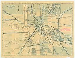 houston map of antique map of houston from 1935 houston mappery
