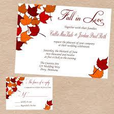 fall wedding invitations diy fall wedding invitations disneyforever hd invitation card