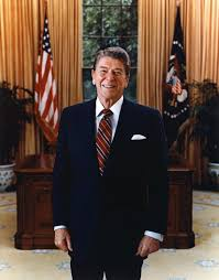 Gold Curtains In The Oval Office Ronald Reagan Standing In The Oval Office U2013 On The Spot Blog