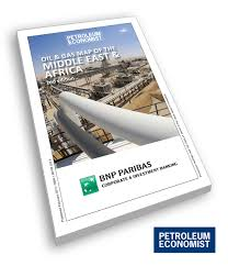 Maps Of The Middle East by Oil U0026 Gas Map Of The Middle East U0026 Africa Petroleum Economist Store