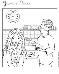 jeux chef de cuisine chef coloriages lire et apprendre vidéos et tutoriels