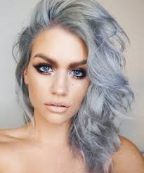 how to get gorgeous salt and pepper hair best 25 blue gray hair ideas on pinterest blue steel hair blue