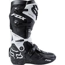 dirt bike motorcycle boots fox racing new mx 2018 instinct black white motocross dirt bike