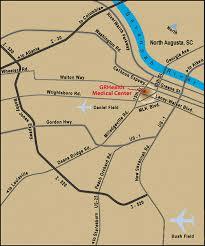 Augusta Ga Zip Code Map by Map Of Augusta Georgia U2013 Gaeg