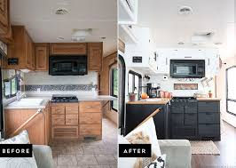 kitchen renovation tiny kitchen remodel the reveal of our rv kitchen renovation