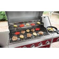 Spider Burners by Kenmore 5 Burner Gas Grill With Ceramic Searing And Rotisserie