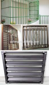 stable quality rectangular portable stainless steel window grill