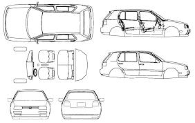 volkswagen drawing car blueprints чертежи автомобилей volkswagen