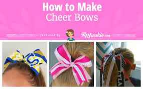 hair ribbon 8 how to make cheer bows tutorials tip junkie