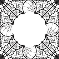 spider web border clip art page and vector graphics wikiclipart