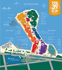 Put In Bay Map Pier 39 Map A Detail Map Of Pier 39 San Francisco