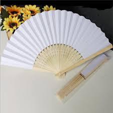 fans for wedding best paper fans white fan wedding bridal