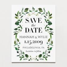 postcard save the dates save the date postcards tagged botanical printable press