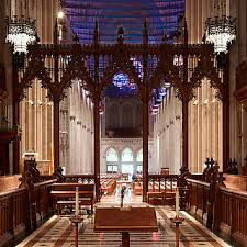 National Cathedral Interior Washington National Cathedral National Trust For Historic
