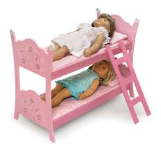 badger basket blossoms and butterflies baby doll bunk bed for 20