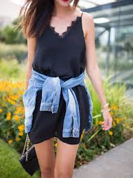 three places to wear a black slip dress the miller affect