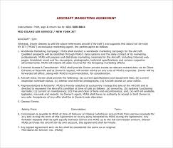 sample marketing agreement u2013 7 documents in pdf word