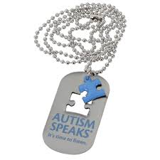 dog necklace tag images Autism speaks dog tag necklace autism speaks jpg