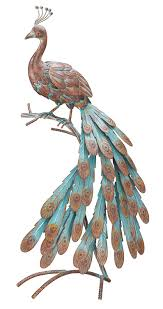 peacock statues peacock decor ideas