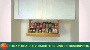 see ultimate kitchen storage under cabinet spice rack excellence