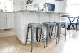 kitchen wonderful metal kitchen bar stools island with top white